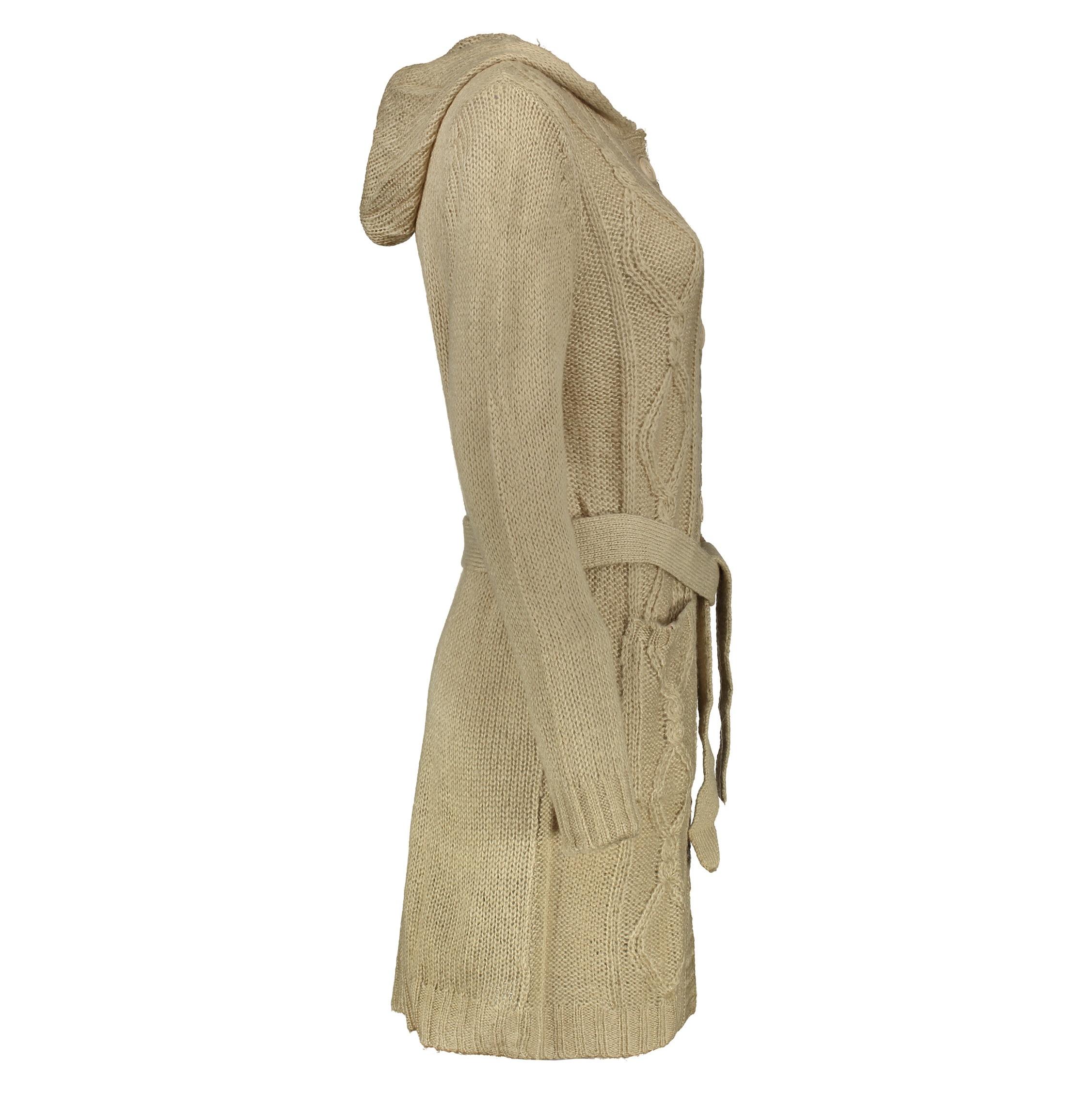 ژاکت زنانه مل اند موژ مدل KT146-010 - کرم - 2