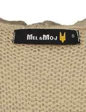 ژاکت زنانه مل اند موژ مدل KT146-010 - کرم - 5