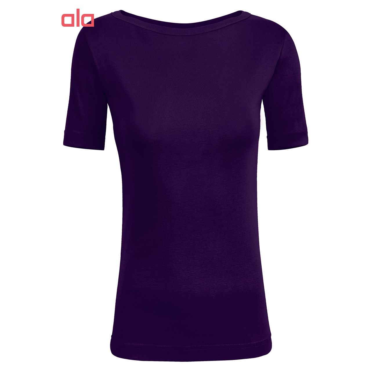 تی شرت نه ساروک مدل TZYGHF02 رنگ بنفش