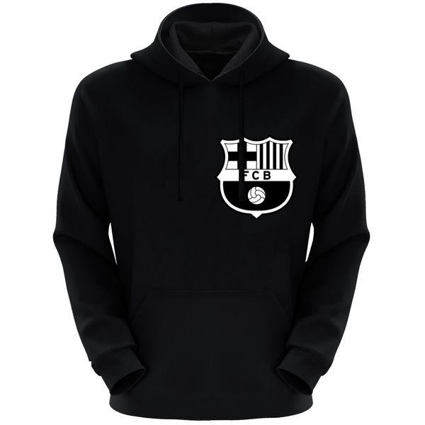 هودی مردانه طرح بارسلونا کد F94 رنگ مشکی