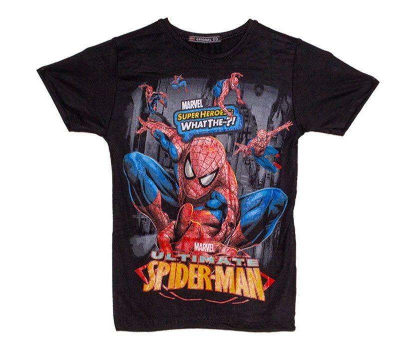 مشخصات، قیمت و خرید تی شرت پسرانه طرح اسپایدرمن کد 08 | دیجیکالا