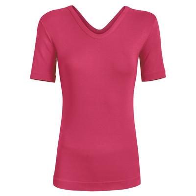 تصویر تی شرت زنانه ساروک مدل TZYVFPB02 رنگ صورتی