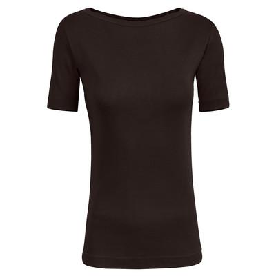 تی شرت زنانه ساروک مدل TZYGHF07 رنگ قهوه ای
