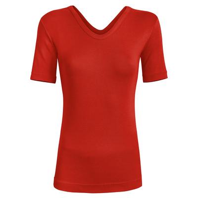 تصویر تی شرت زنانه ساروک مدل TZYVFPB03 رنگ قرمز