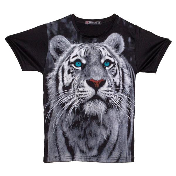 تی شرت پسرانه طرح ببر کد 09