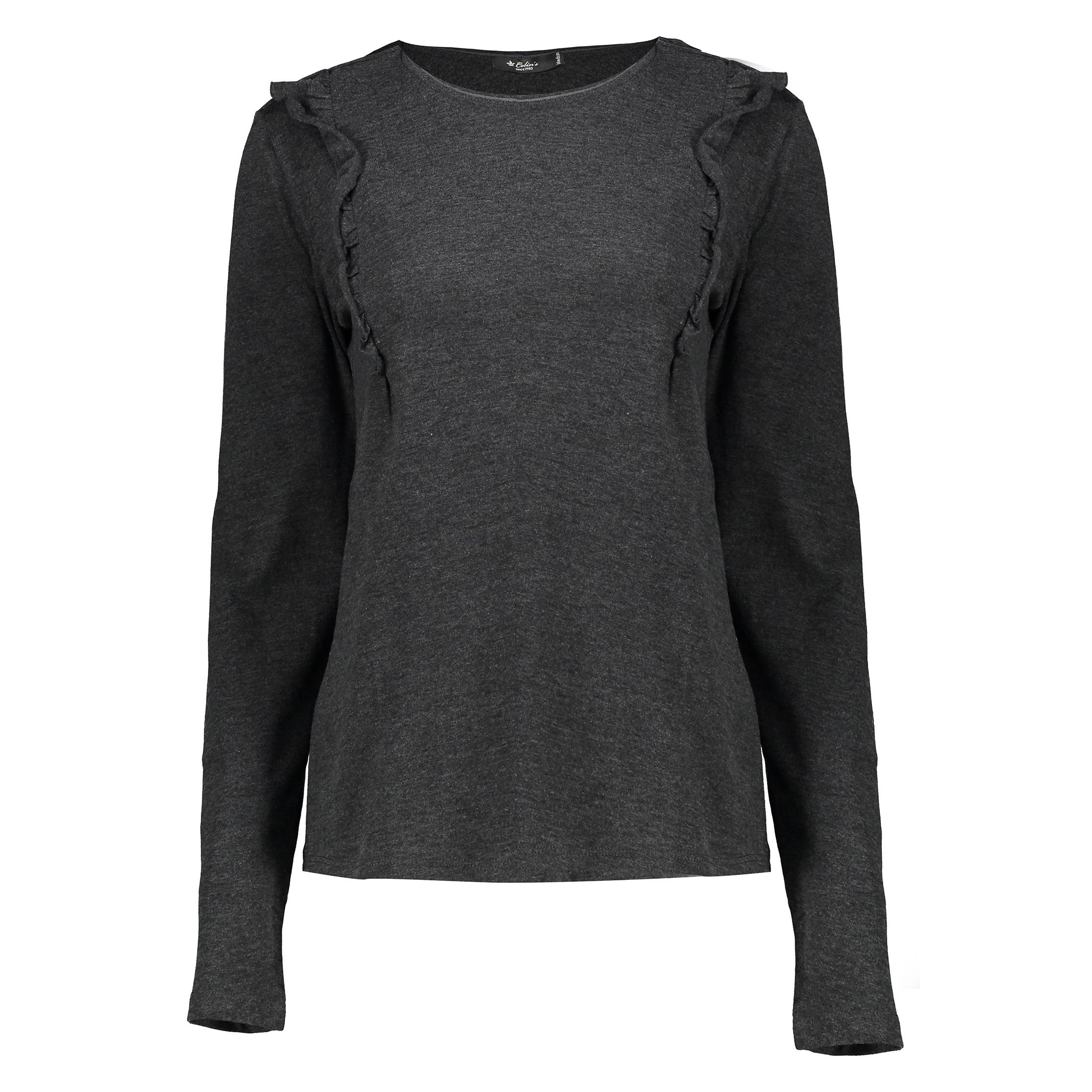 تی شرت زنانه کالینز مدل CL1030114-ANTHRACITE MELANGE