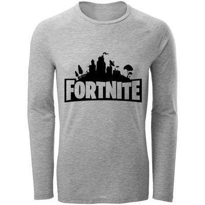 Photo of تی شرت آستین بلند مردانه طرح Fortnite کد F87