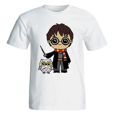 Photo of تی شرت آستین کوتاه زنانه طرح هری پاتر کد 35016