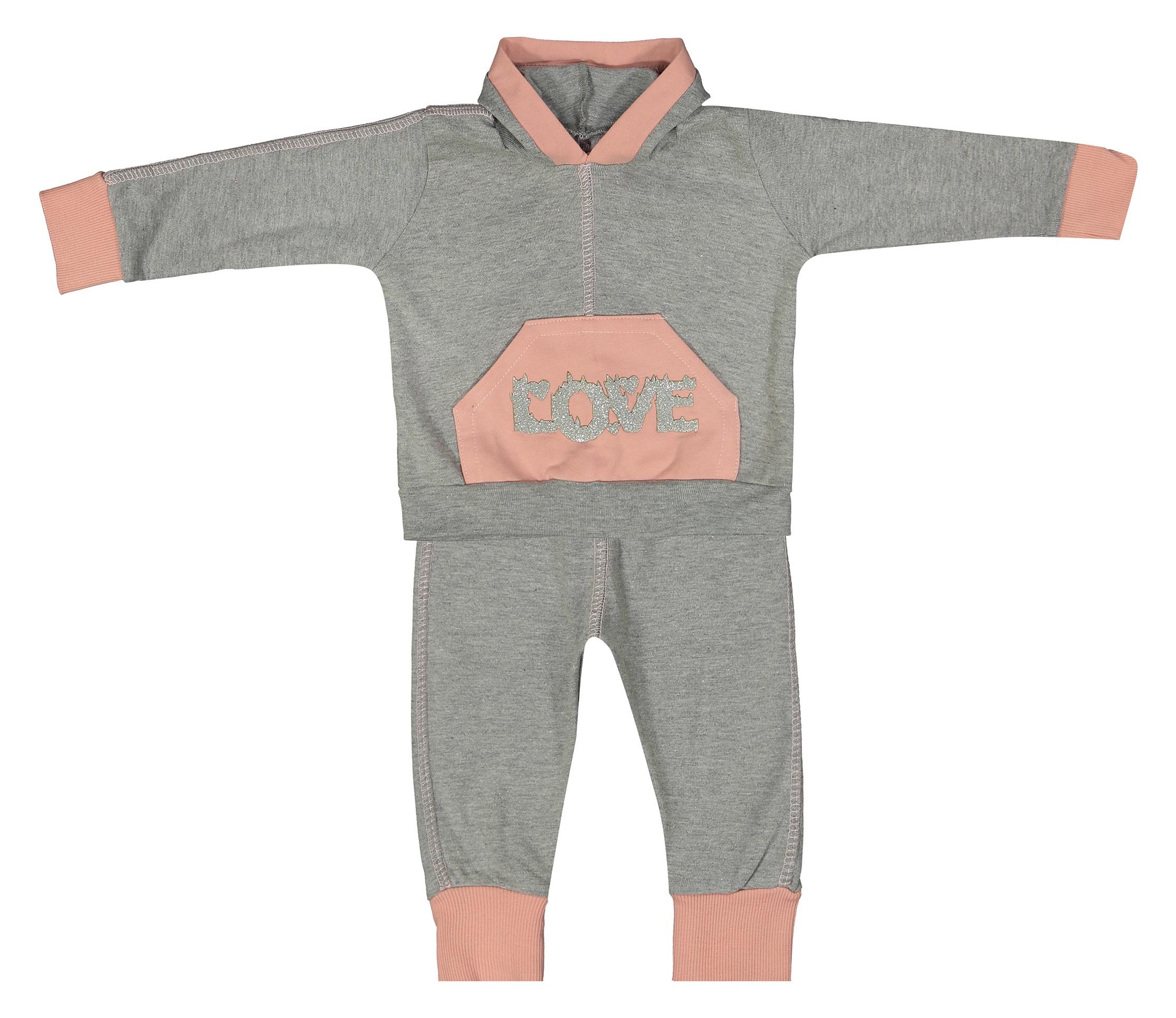 ست هودی و شلوار نوزادی کد A6