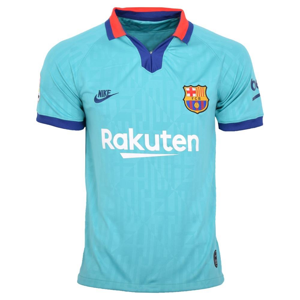 تصویر تیشرت ورزشی مردانه طرح بارسلونا کد 2019.20 رنگ آبی