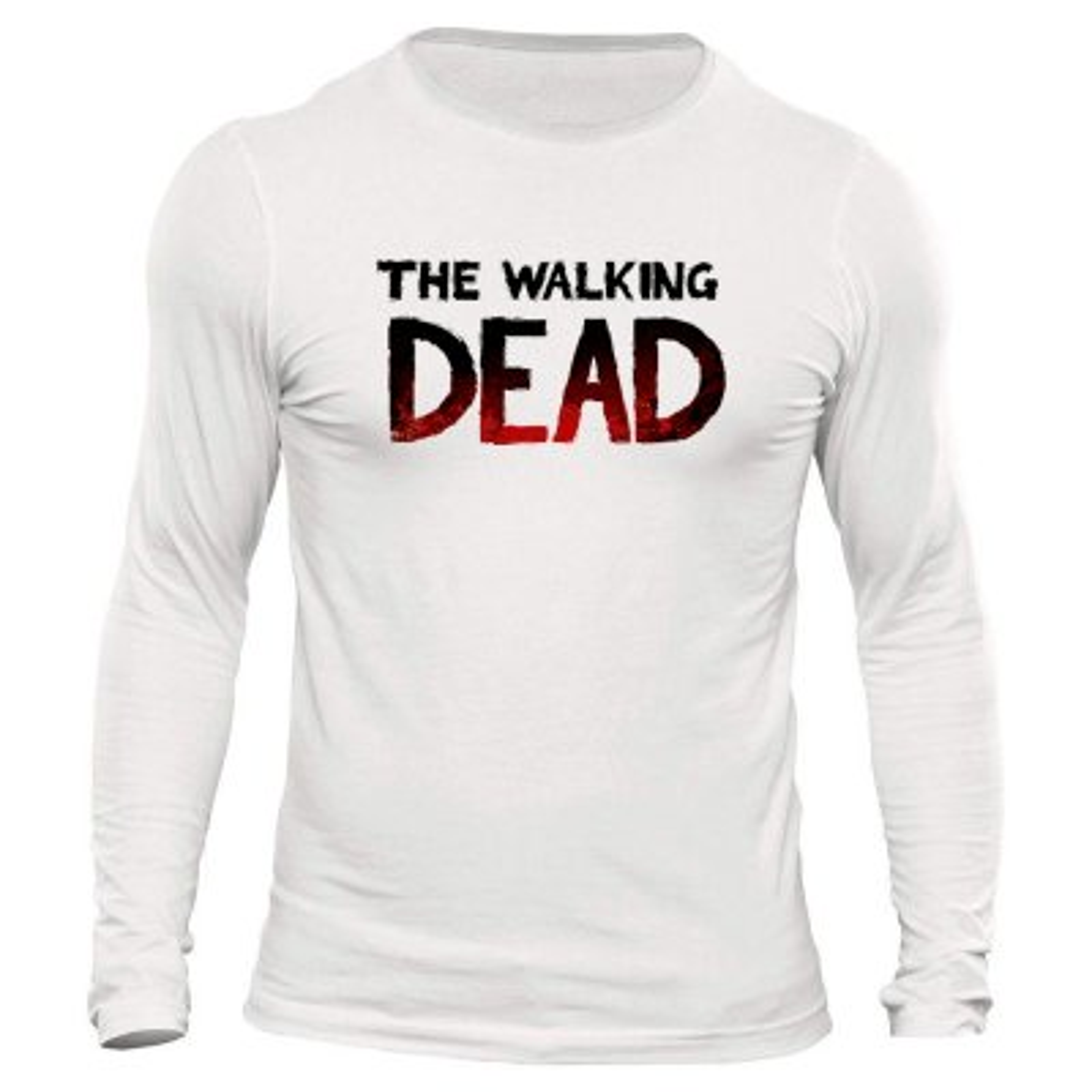 تصویر تیشرت آستین بلند مردانه طرح walking dead کد 1083