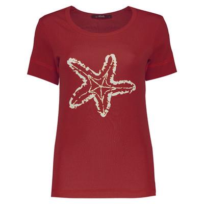 تیشرت زنانه طرح ستاره کد 72