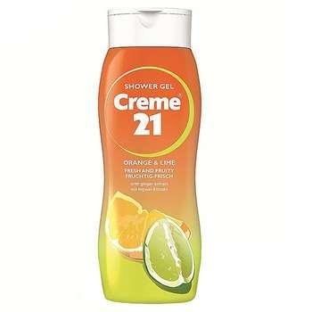 شامپو بدن کرم 21 مدل Orange And Lime حجم 250 میلی لیتر