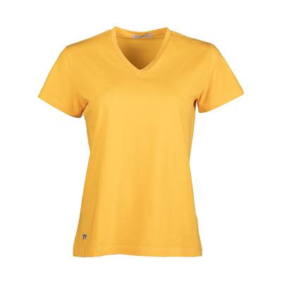 تصویر تی شرت زنانه سیاوود کد 6100400 Y0066 رنگ زرد