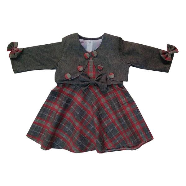 ست 2 تکه لباس دخترانه کد 143