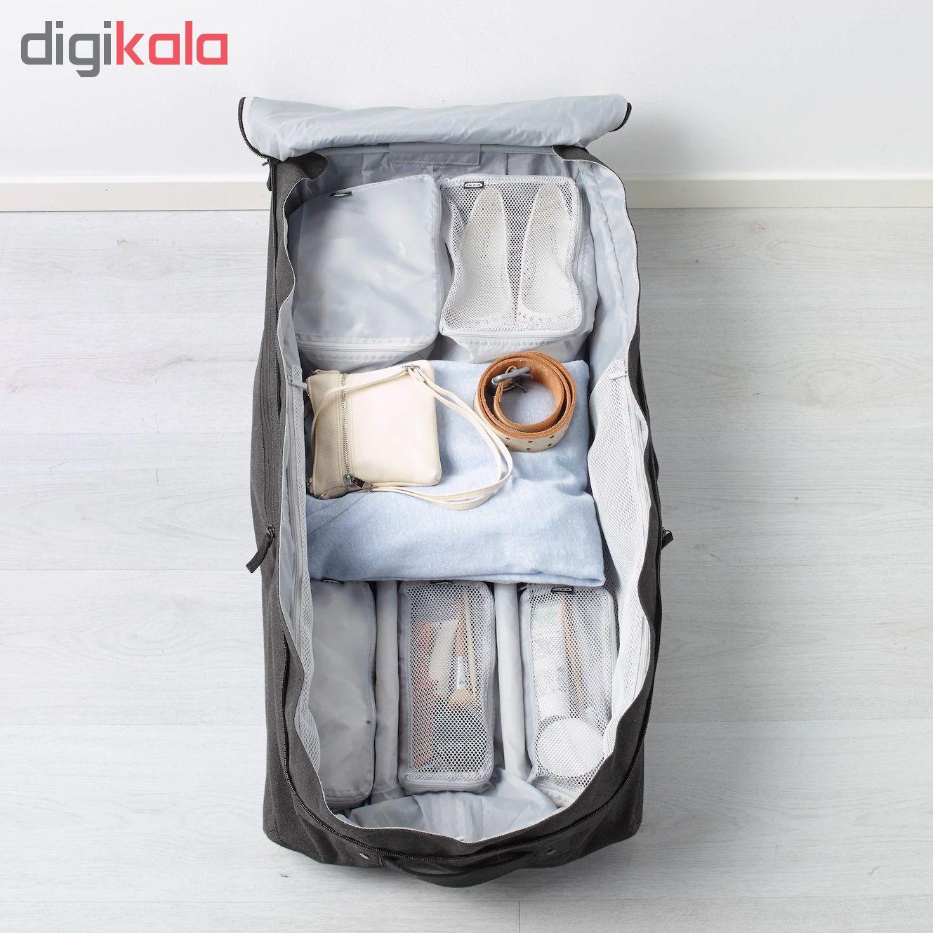 کیف لوازم شخصی ایکیا مدل FORFINA مجموعه 6 عددی