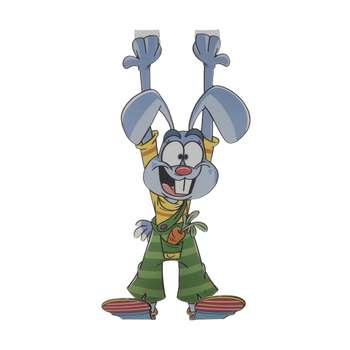آویز لباس کودک طرح خرگوش کد 001