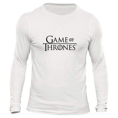 تیشرت آستین بلند مردانه طرح game of thrones کد 1092