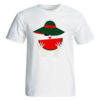 تی شرت آستین کوتاه زنانه مدل یلدا کد 4929