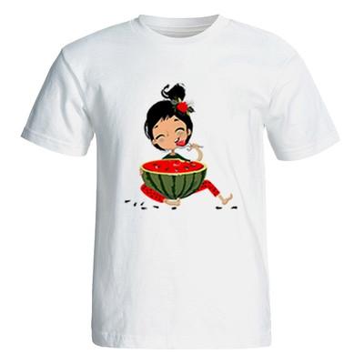 تصویر تی شرت آستین کوتاه زنانه مدل یلدا کد 4999