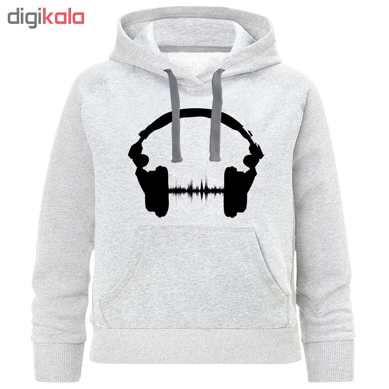هودی پسرانه طرح music کد K49