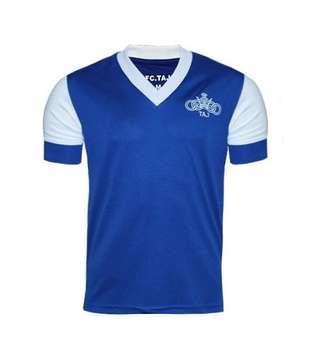 تیشرت ورزشی مردانه طرح تاج کد 01 رنگ آبی