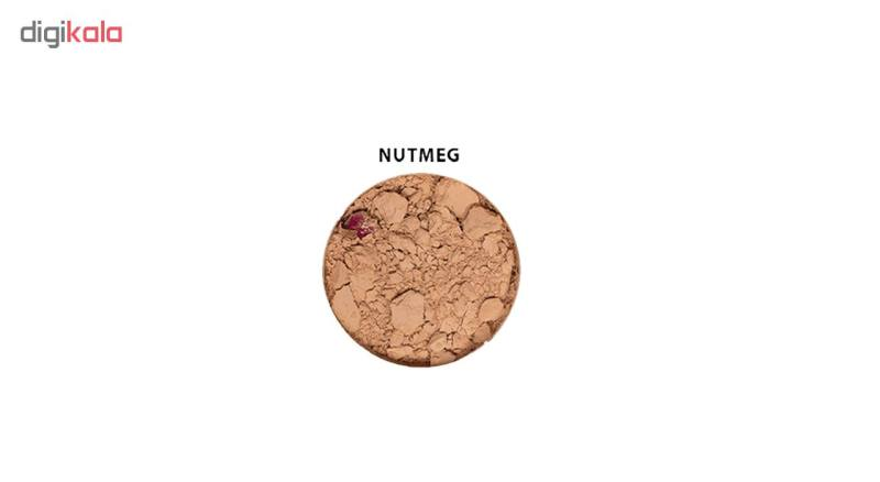 پودر تثبیت کننده آرایش زویی ارگانیک مدل Flora Nutmeg