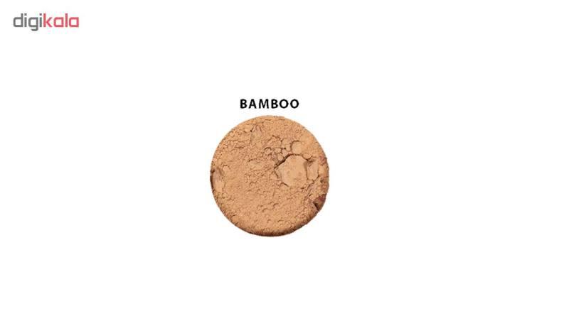 پودر تثبیت کننده آرایش زویی ارگانیک مدل Flora Bamboo