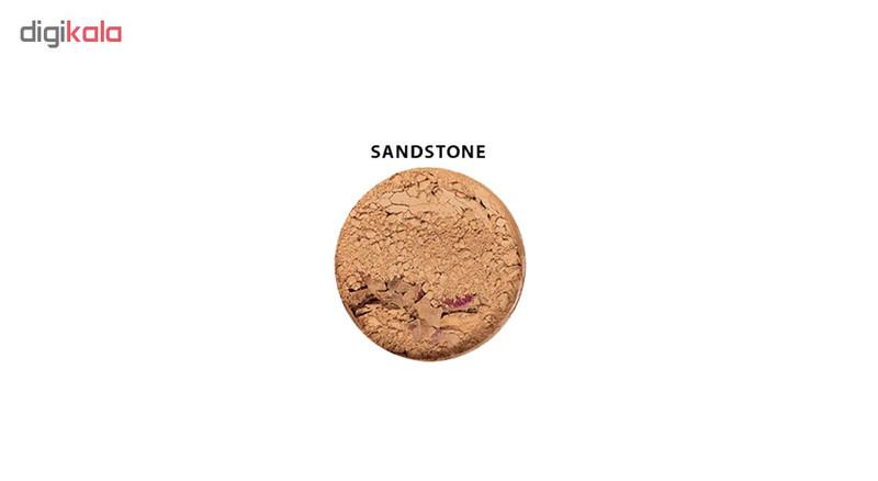 پودر تثبیت کننده آرایش زویی ارگانیک مدل Flora Sandstone