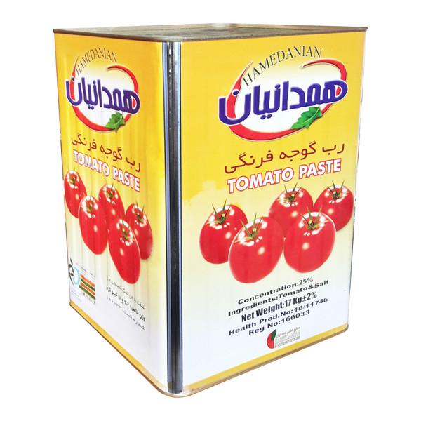 کنسرو رب گوجه فرنگی همدانیان  - 17000 گرم