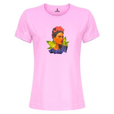 تی شرت زنانه ساروک مدل TZYUYRCH-Frida03 رنگ صورتی