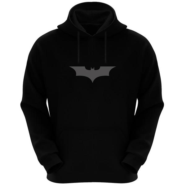 هودی مردانه مدل Batman Rf 02 رنگ مشکی