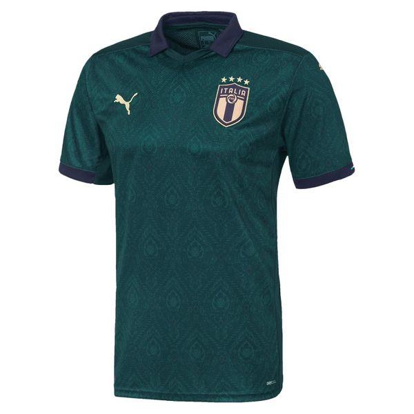 تی شرت ورزشی مردانه طرح تیم ملی ایتالیا مدل 2020 کد PT رنگ سبز غیر اصل