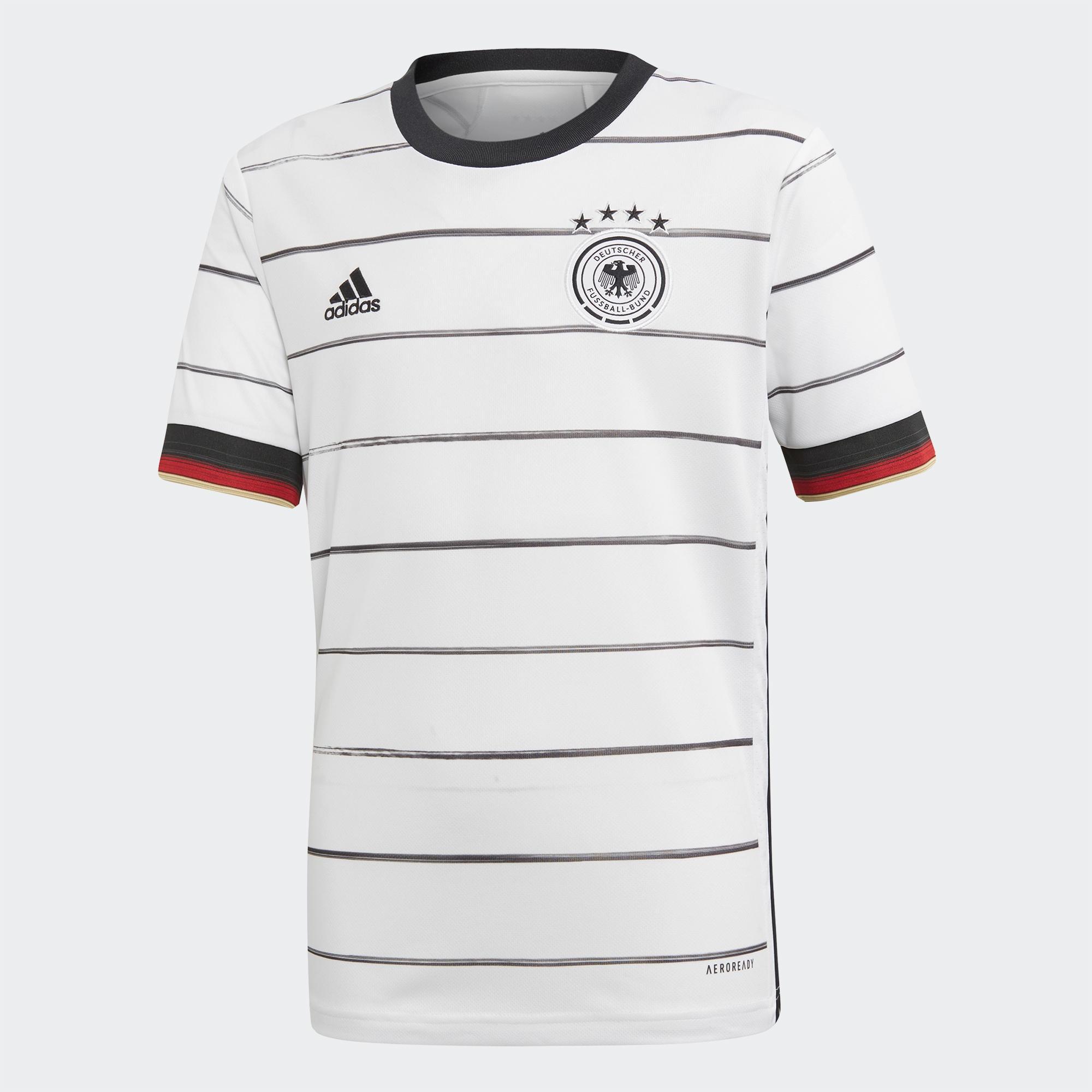 تی شرت ورزشی مردانه طرح تیم ملی آلمان مدل یورو 2020 کد pt رنگ سفید