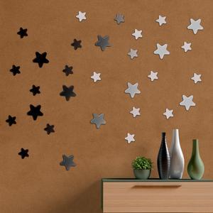آینه فیلی طرح ستاره های سر گرد کد PG009