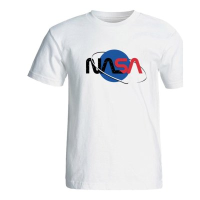 تصویر تیشرت مردانه طرح ناسا کد SA371