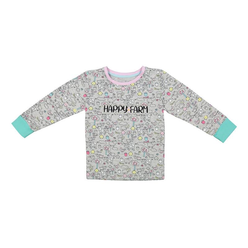 ست تی شرت و شلوار راحتی دخترانه ناربن مدل 1521165-90