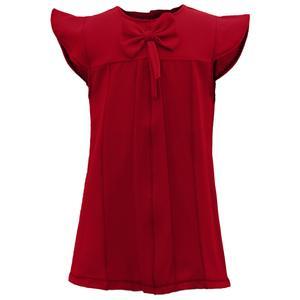 بلوز دخترانه کد EM010 رنگ قرمز