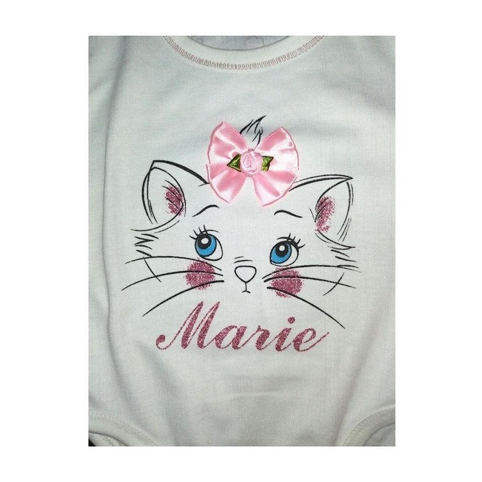 ست 3 تکه لباس نوزاد طرح گربه