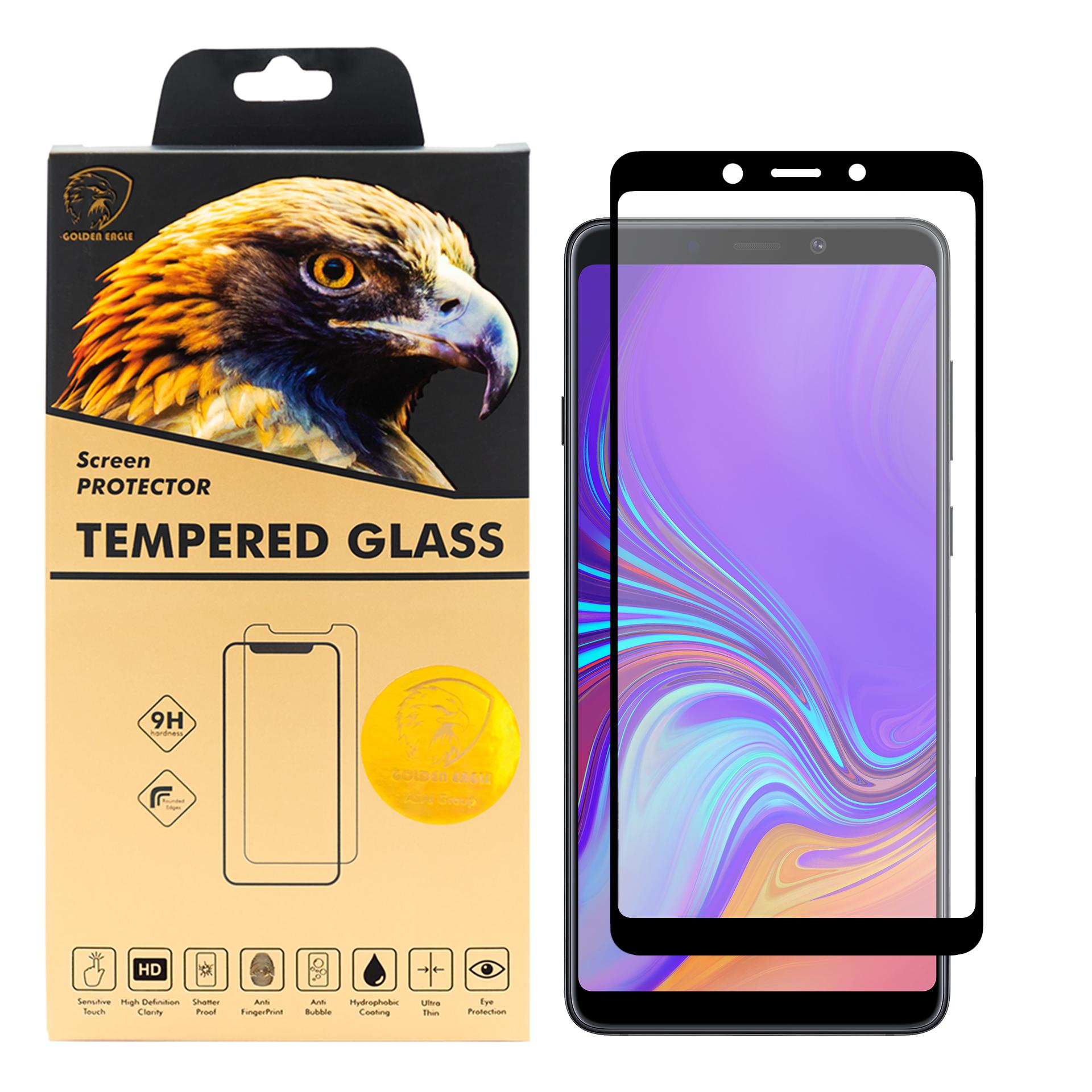 محافظ صفحه نمایش گلدن ایگل مدل DFC-X1 مناسب برای گوشی موبایل سامسونگ Galaxy A9 2018