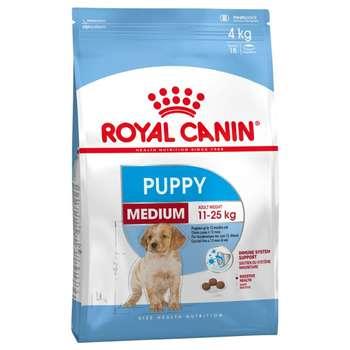 غذای خشک سگ رویال کنین مدل Medium Puppy وزن 4 کیلوگرم