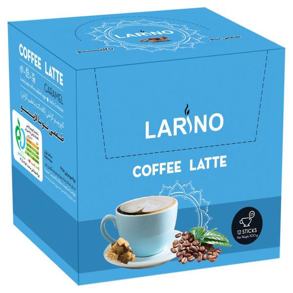 کافه لاته کارامل لارینو  - 25 گرم بسته 12 عددی