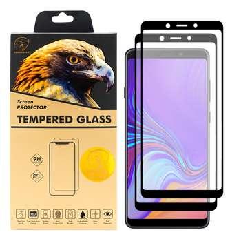 محافظ صفحه نمایش گلدن ایگل مدل DFC-X2 مناسب برای گوشی موبایل سامسونگ Galaxy A9 2018 بسته دو عددی