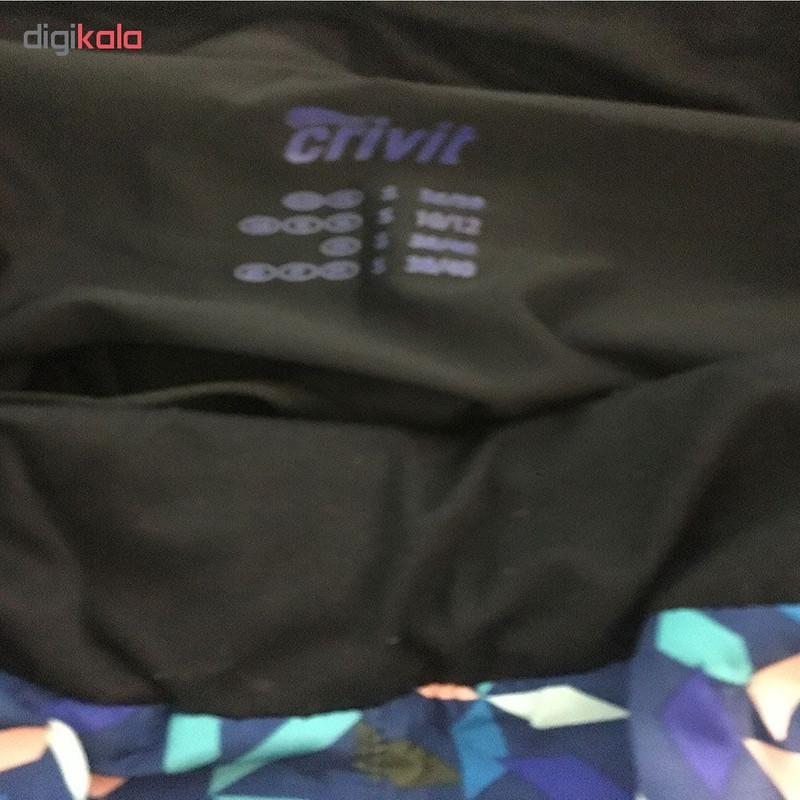 شلوارک ورزشی زنانه کرویت کد cr115