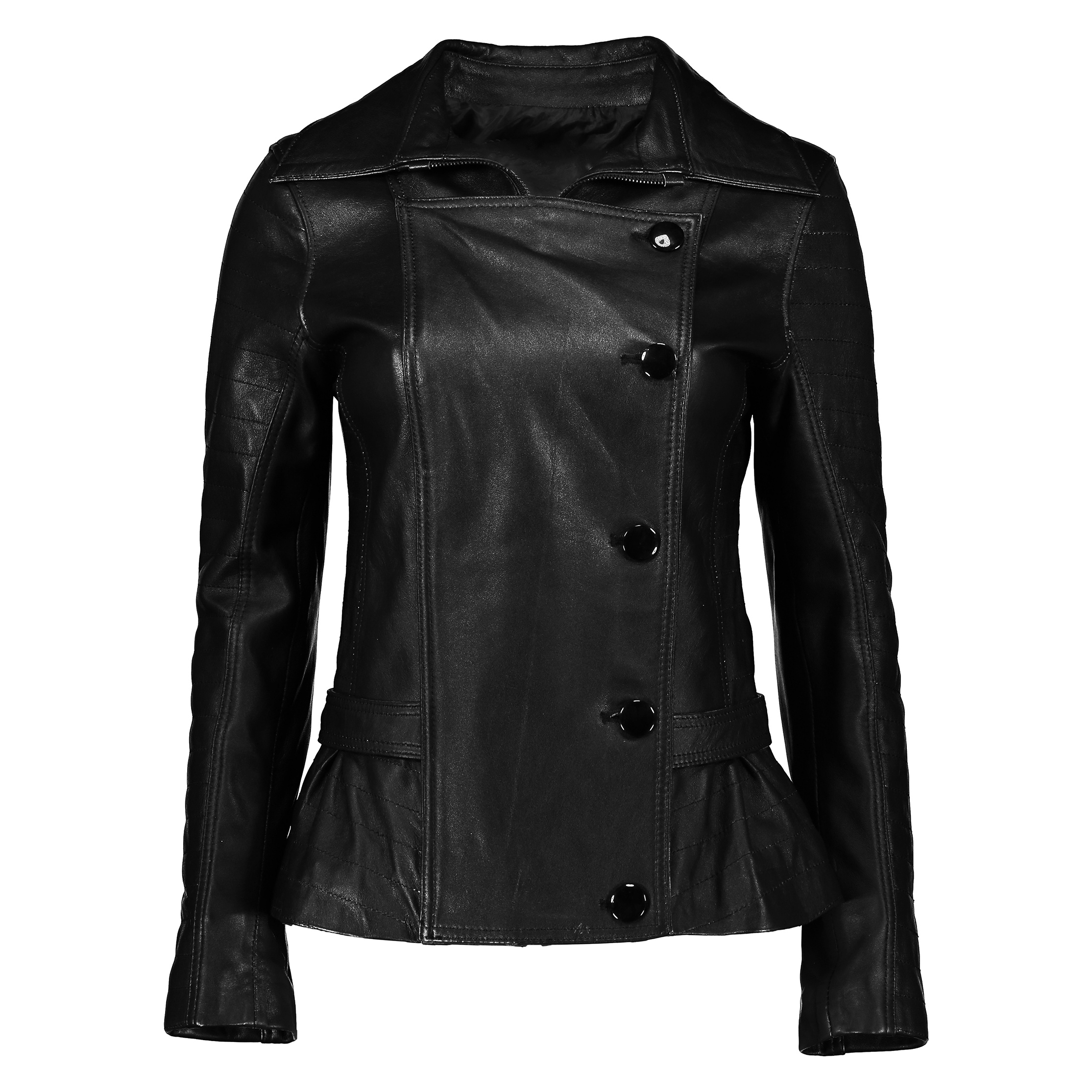 کت چرم زنانه شیفر مدل 2707-01