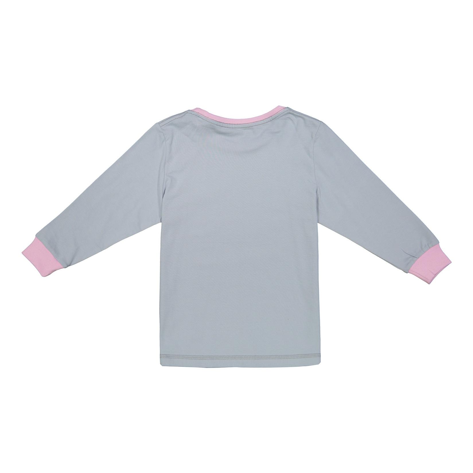 ست تی شرت و شلوار راحتی دخترانه ناربن مدل 1521166-9084