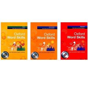 کتاب Oxford word skills اثر Ruth Gairns and Stuart Redman  انتشارات آکسفورد 3 جلدی