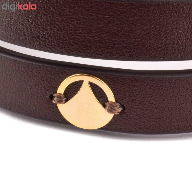 دستبند طلا 18 عیار زنانه درگون جولری مدل SLT20