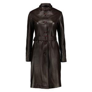 کت چرم زنانه شیفر مدل 2706-02