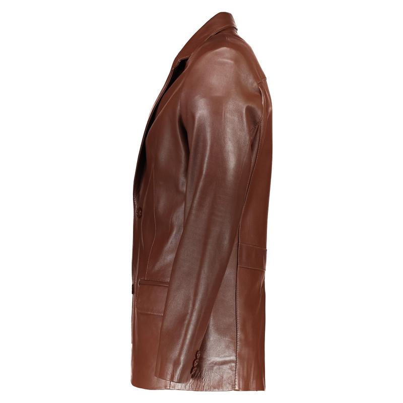 کت چرم مردانه شیفر مدل 2509-03